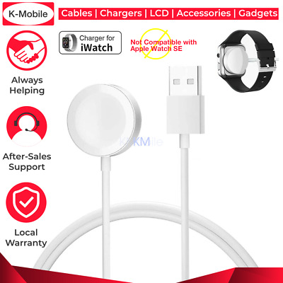 AU7.69 • Buy For Apple Watch IWatch 5 4  2 1 Magnetic Charger Charging Cable Fast  White  AU