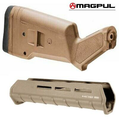 $109.95 • Buy NEW MAGPUL Mossberg 590/590A1 STOCK + FOREND MAG490-FDE / MAG494-FDE
