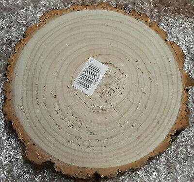 £14.99 • Buy Large Small Wood SlicesTree Trunk Wooden Discs Cake Stand
