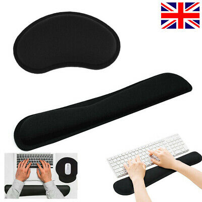 £6.19 • Buy Memory Foam Nonslip Mouse Wrist Support&Keyboard Wrist Rest For Computer Office
