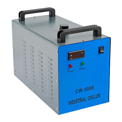 £188.99 • Buy Industrial CW-3000 Water Chiller For CO2 Glass Laser Tube Engraving Machine