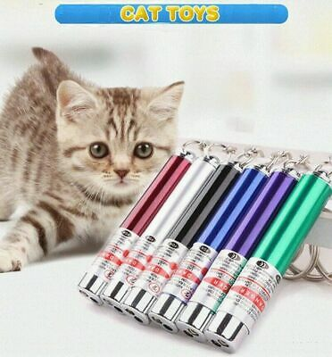 £2.99 • Buy Powerful Red Laser Lazer Pointer Pen Interactive Cat Toy With LED Light(2 In 1)