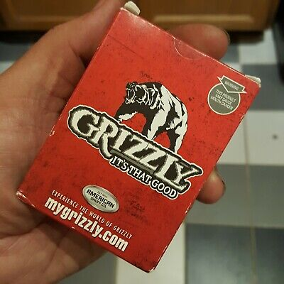 $ CDN8.80 • Buy Grizzly Snuff Chew Playing Cards American Snuff Co. Advertising Sealed New Deck
