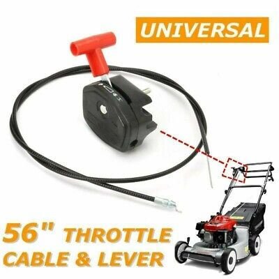 £9.19 • Buy For Lawnmower Lawn Mower 56'' Throttle Cable Switch Lever Control Handle UK..