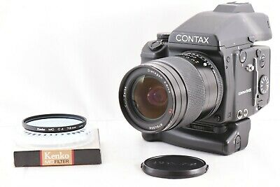 $ CDN3719.15 • Buy 【 Exc +++++ 】 CONTAX 645 W/ Carl Zeiss Distagon 45mm F/2.8 Lens From JAPAN 1588