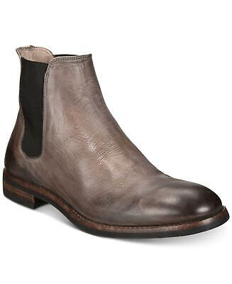 $78.66 • Buy Frye Mens Ben Cheslea Leather Almond Toe Ankle Chelsea Boots, Grey, Size 11.0