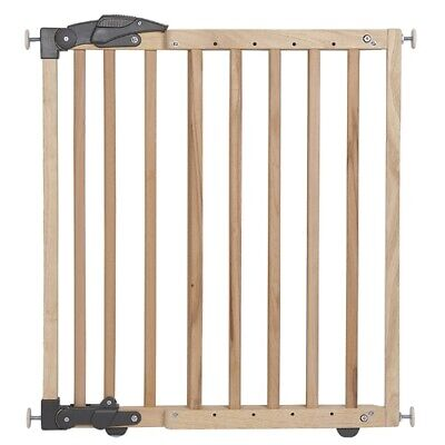 £44.95 • Buy Brand New In Box Clippasafe Extendable Dual Fix Wooden Gate 68cm To 102cm