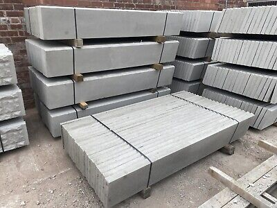 £13.20 • Buy New ~ 6x1 Reinforced Concrete Fencing Gravel Boards / Base Panels ~ Smooth