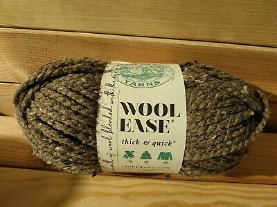 £4.50 • Buy Lion Brand Yarns Wool Ease Thick And Quick, 170g 82% Acrylic 10% Wool 8% Rayon