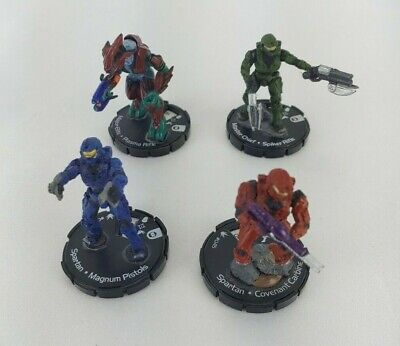 £7.15 • Buy Halo ActionClix Lot Of 4 #023 #002 #045 #055 Microsoft 2007 Figurines