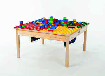 £186.97 • Buy DUPLO TABLE Compatible With Storage 32 X32 -HEAVY DUTY WOOD-NEW-MADE IN USA!
