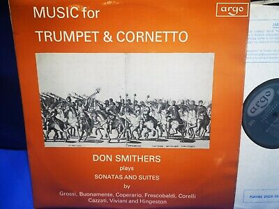 £29.99 • Buy $argo Zrg 601 *oval 1st* Don Smithers* Music For Trumpet & Cornetto* Nm