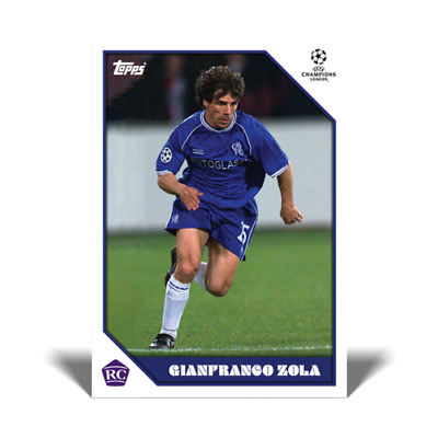 £6.95 • Buy Topps Now - The Lost Rookie Collection  GIANFRANCO ZOLA Rookie Card RC