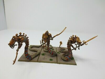 £109.99 • Buy Warhammer Tomb Kings Sepulchral Stalkers X3 Based And Well Painted G296