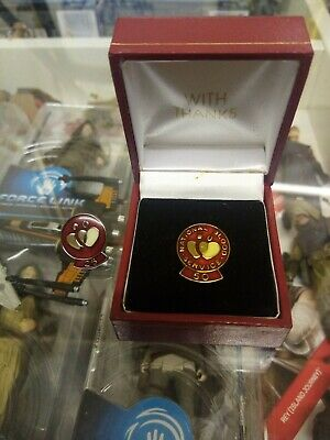£40 • Buy National Blood Transfusion Service Solid Silver Donations Badge & Case 25&50