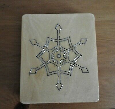 £10 • Buy Christmas Snowflake Wooden Cutting Die For Crafting