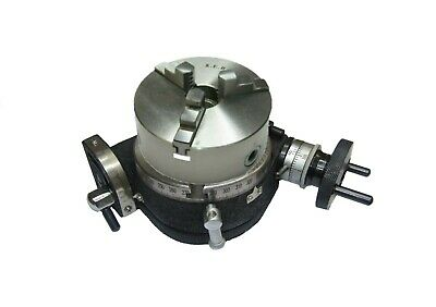 £170 • Buy 100mm Tilting Rotary Table & 100mm Aed 3-jaw Chuck Engineering Tools