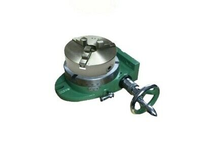 £150 • Buy 6'' Slimline Rotary Table 150mm / 6  With 125mm Aed 3 Jaw Lathe Chuck