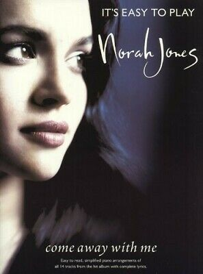 £7.32 • Buy It's Easy To Play Norah Jones; Come Away With Me Hardcover
