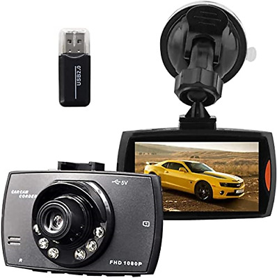 AU44.38 • Buy Full HD 1080P Dash Cam For Car, 170°Wide Angle Dash Front And Rear Camera With ,