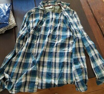 £12.95 • Buy Braintree Checked Shirt Size Large Mens