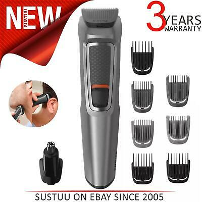 AU38.98 • Buy Philips Series 3000 9-in-1 Multi Groomer For Beard & Hair Nose Trimmer MG3722/33