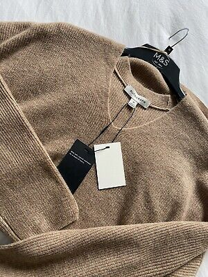 £25 • Buy M&S Jumper With Cashmere Large