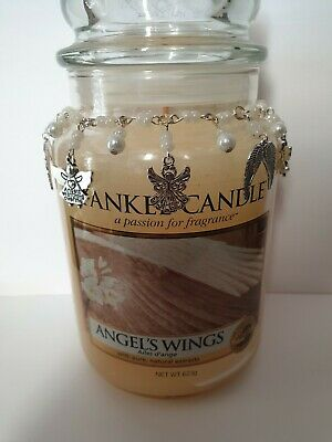 £7.50 • Buy Angel Wings Candle Necklace Fits Medium Or Large Yankee Candle Or Village Candle