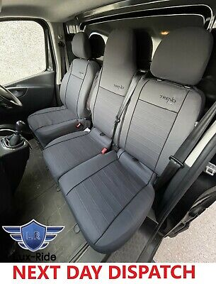 £65.99 • Buy Fabric Tailored Front Seat Covers For Nissan Nv300 2014 - 2021