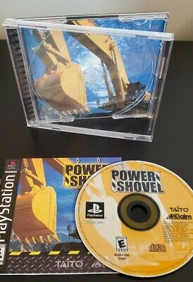 £23.63 • Buy Power Shovel (Sony PlayStation 1) PS1 Complete With Registration Card