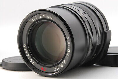 $ CDN415.29 • Buy 【TOP MINT BLACK】 Carl Zeiss Contax G 90mm F2.8 For Contax G1 G2 From JAPAN 462