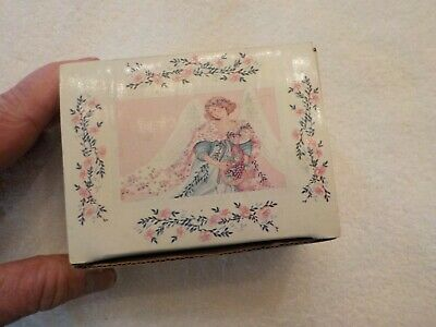 £5.03 • Buy Heavenly Blessings Ceramic Promise Box W Inspirational Cards DaySpring T9675