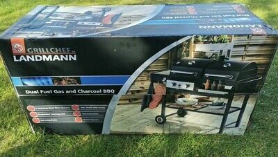 £249.45 • Buy Brand New Grillchef By Landmann, Dual Fuel Gas And Charcoal BBQ
