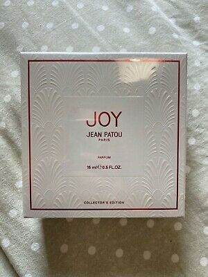 £55 • Buy Jean Patou Joy Parfum 15ml. New And Sealed. Collectors Edition **rare**