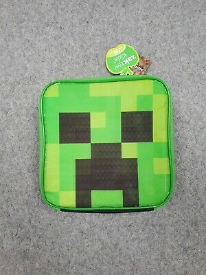 £8 • Buy Minecraft Lunch Box Creeper School Food Container Childrens Bag One Size