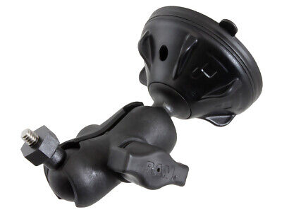 £22.30 • Buy RAM Twist-Lock Low Profile Suction Cup 1  Ball Mount With 1/4 -20 Threaded Stud