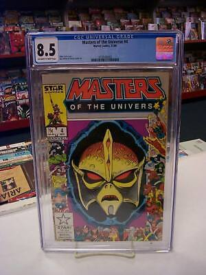 $40 • Buy MASTERS Of The UNIVERSE #4 (Marvel, 1986) CGC Graded 8.5! ~ HE-MAN