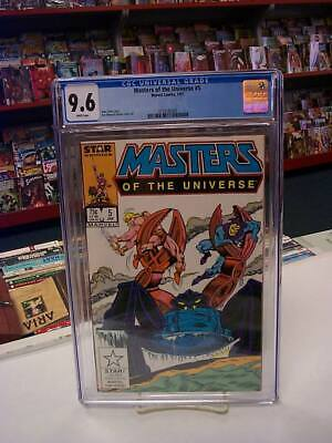 $60 • Buy MASTERS Of The UNIVERSE #5 (Marvel, 1987) CGC Graded 9.6! ~ HE-MAN ~ White Pages