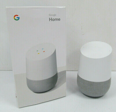 AU56.04 • Buy Google Home Voice Activated Wireless Smart Speaker With Google Assistant - CHALK