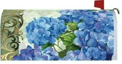 $18 • Buy Blue Hydrangea Magnetic Mailbox Cover