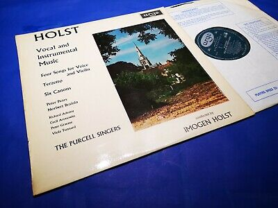 £24.99 • Buy $ARGO ZRG 5497 *OVAL GRVD* 1ST *HOLST: FOUR SONGS FOR VOICE & VIOLIN Etc *NM