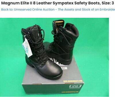 $111.18 • Buy Ladies Hiking Boots,water Proof, Magnum Elite 2, High Leg, Combat Boots,s3.new