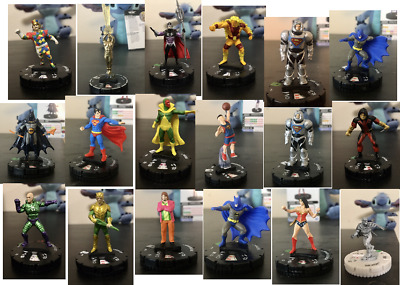 £23 • Buy NECA HEROCLIX JOBLOT Collection Of Mixed DC Marvel Avengers Justice League Set