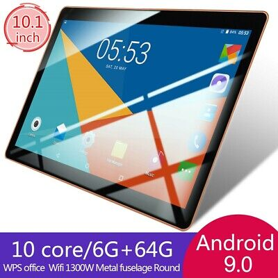 AU117.18 • Buy 10.1 Inch Tablet PC HD Android 9.0 6GB+64GB Deca Core WIFI Dual Camera Phablet