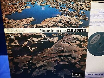 £29.99 • Buy $argo Zrg 533 *grooved Oval *1st *music From The Far North* Bhattacharya* Nm