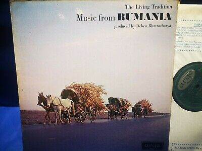 £29.99 • Buy $argo Zrg 531 *grooved Oval *1st *music From Rumania* Bhattacharya* Nm