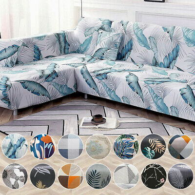 AU21.99 • Buy Stretch Sofa Cover Couch Lounge Slipcover Protector 1 2 3 4 Seater L Shape Cover