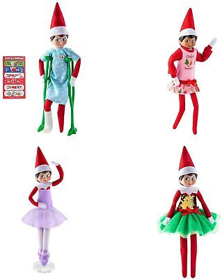 AU61.99 • Buy Elf On The Shelf Clothes - Super Value Girl Power Pack (Elf Dolls Not Included)