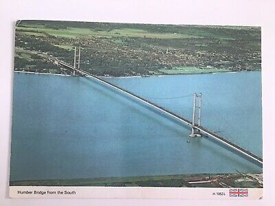 £3.95 • Buy The Humber Bridge From The South, UnPosted Vintage Postcard 1582