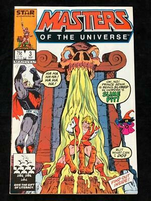 $12.99 • Buy Masters Of The Universe #3 Marvel Star Comics VF